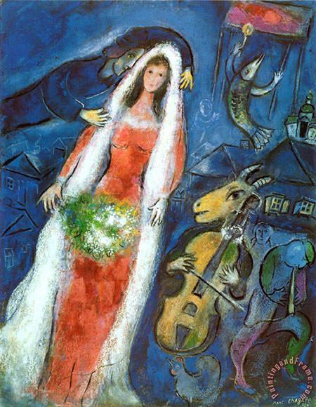 la-mariee-1950-marc-chagall